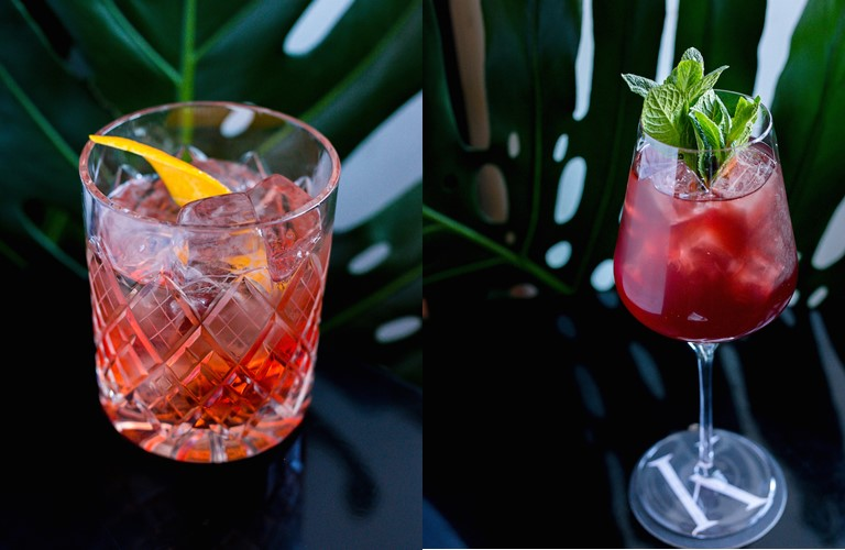 The True Blood Negroni и Pomegranate Gin&Tonic