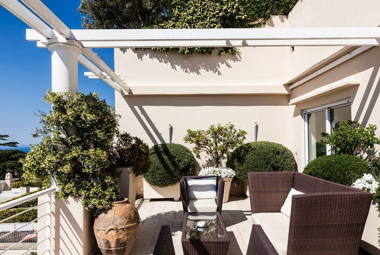 Оригинальные сьюты в отеле Capri Palace - фото - Callas Suite with Private Pool