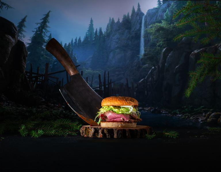 Новый бургер «Дикон» от PlayStation и Burger Heroes
