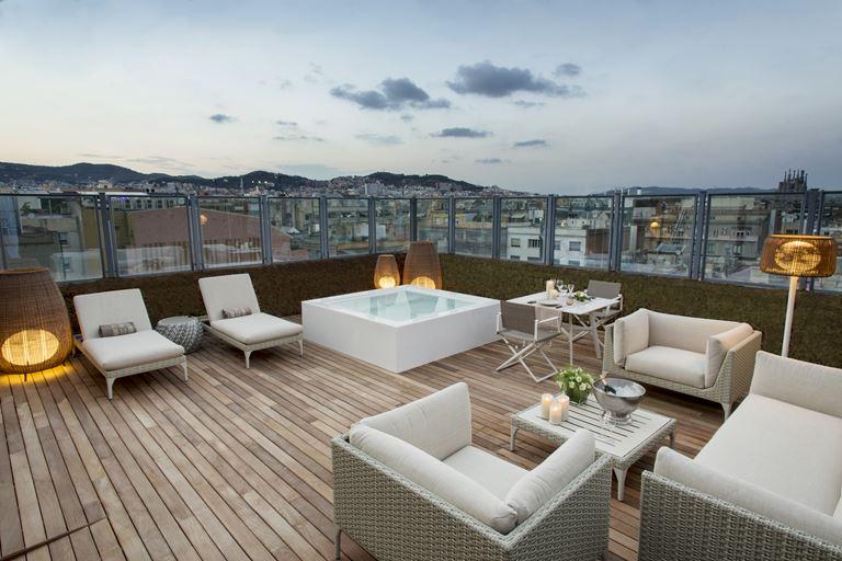 Majestic Royal Penthouse – самый большой в Барселоне - фото 2