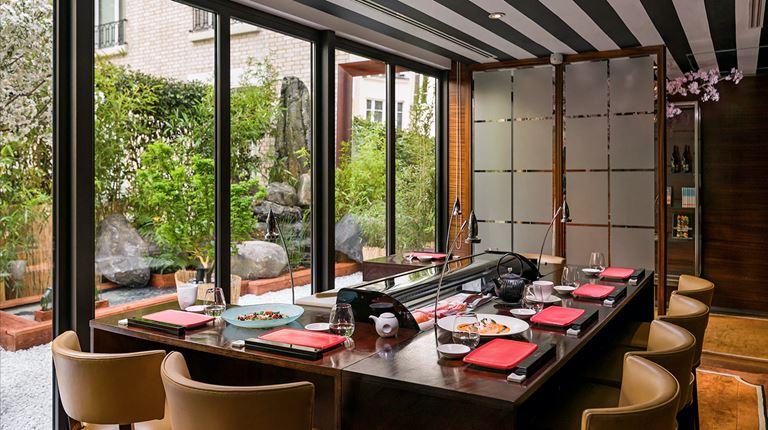 Matsuhisa Niwa - новый pop-up ресторан в отеле Le Royal Monceau - Raffles Paris