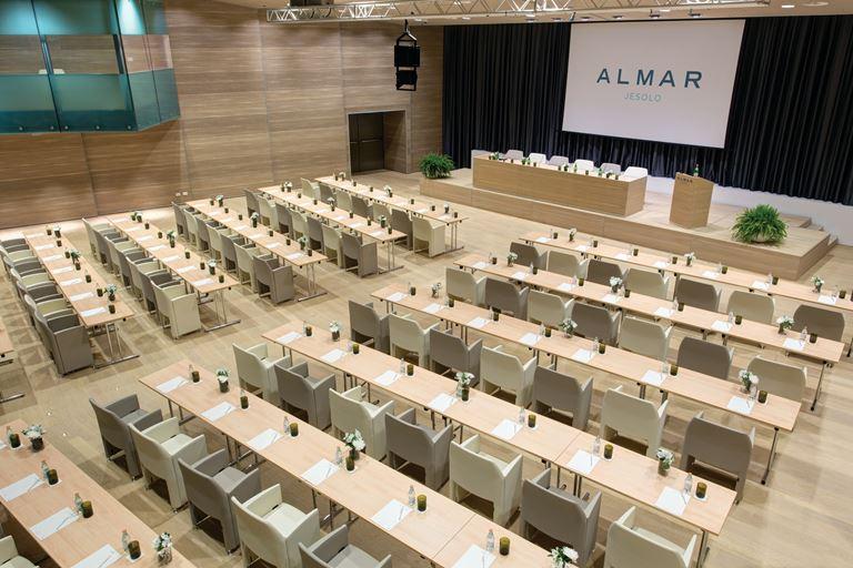 Курорт Almar Jesolo Resort & Spa предлагает уникальные возможности для делового туризма