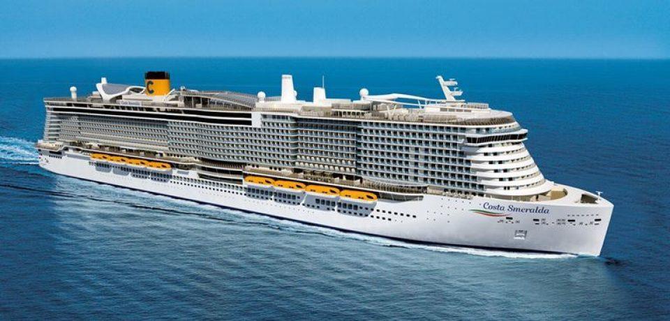 Costa Cruises представила лайнер нового поколения Costa Smeralda