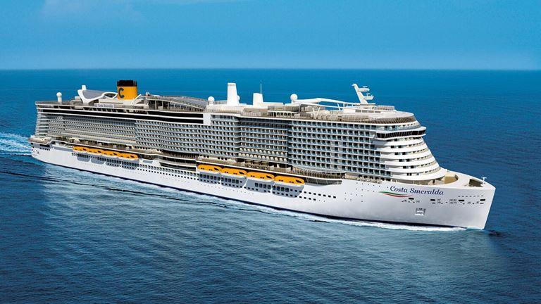 Осенние круизы 2019 на лайнерах Costa Cruises - Costa Smeralda