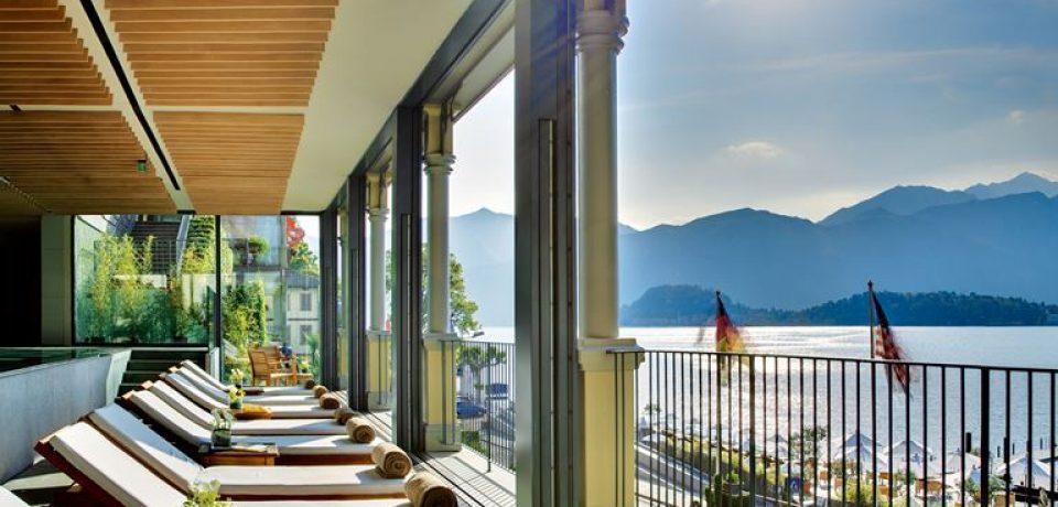 Grand Hotel Tremezzo: спа-центр T Spa (о. Комо, Италия)
