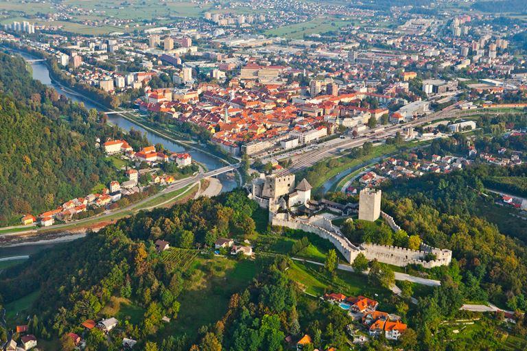 Что посмотреть в Словении - Замок Целе