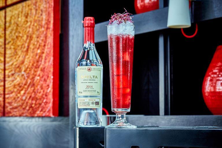 Новые коктейли в барной карте Sixty - Коктейль Cherry Mule