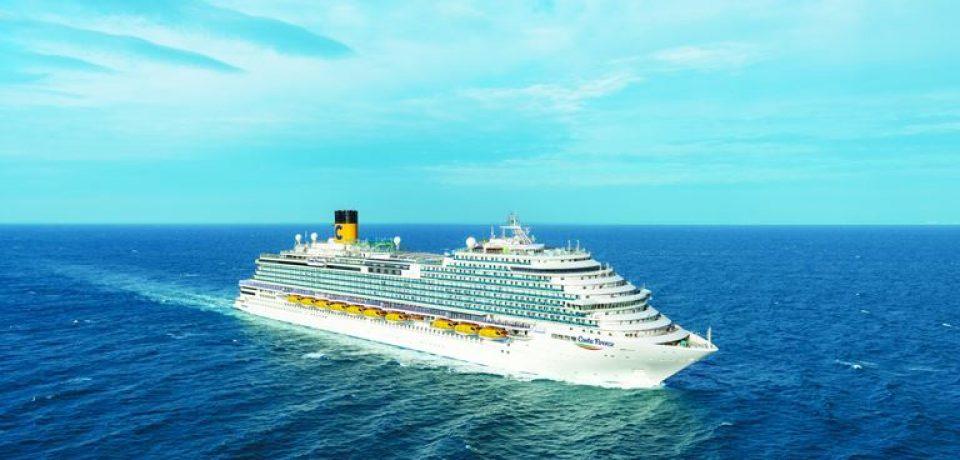 Costa Cruises представляет круизный лайнер Costa Firenze