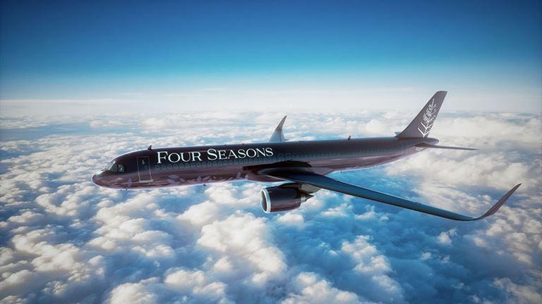Four Seasons Private Jet – путешествие с комфортом и роскошью