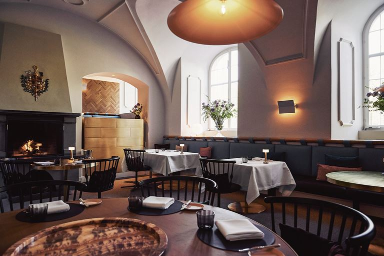 Ресторан IGNIV курорта Grand Resort Bad Ragaz (Швейцария)