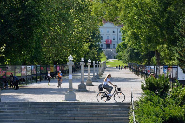 Что посмотреть в Словении - Парк Тиволи
