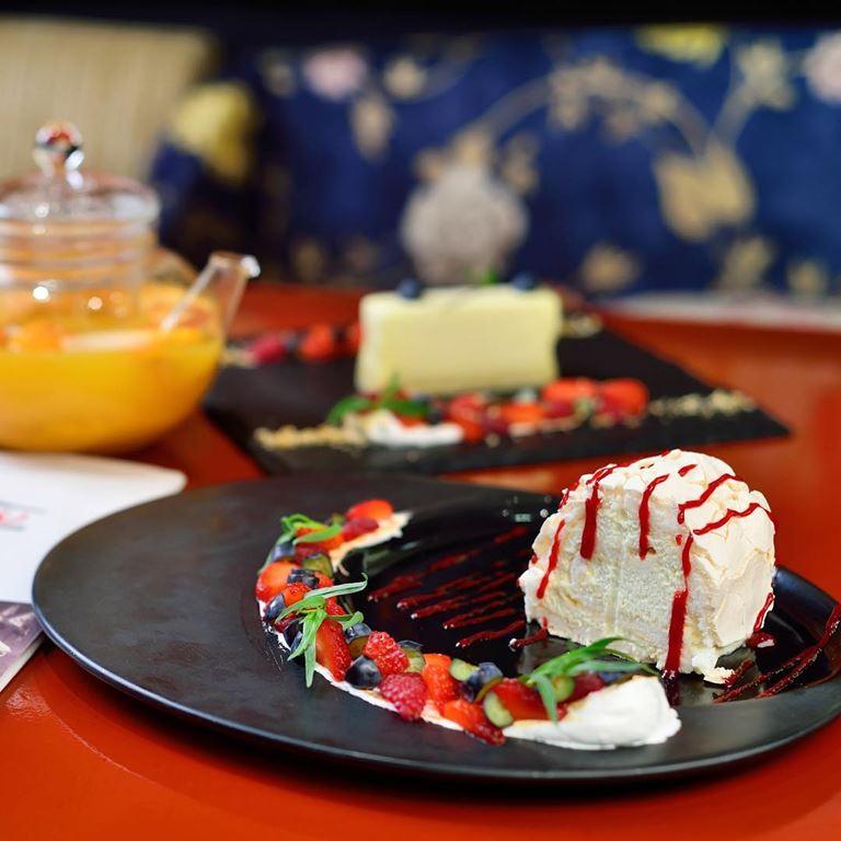 Пирожное «Анна Павлова» - рецепт от ресторана «Макао»
