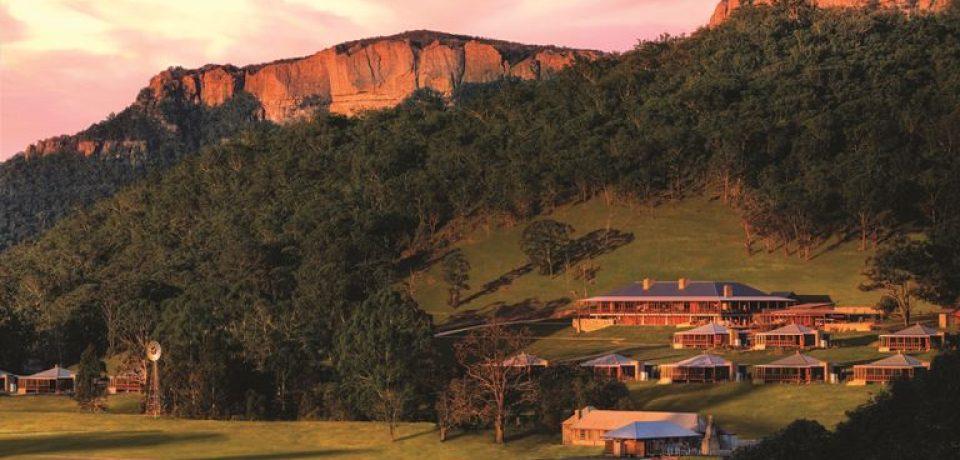 Зима на курорте Emirates One&Only Wolgan Valley (Австралия)