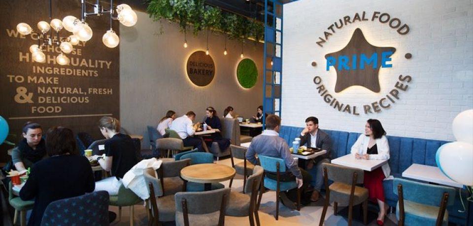 Красивая цифра: в Москве открылось 100-е кафе сети PRIME