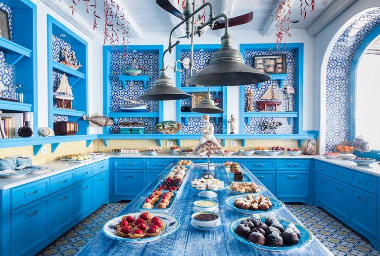 Ресторан Il Riccio отеля Capri Palace - фото 2