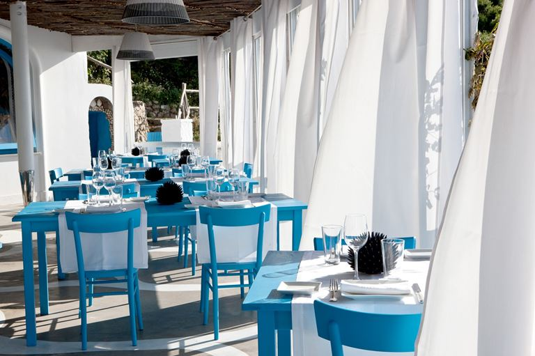 Ресторан Il Riccio отеля Capri Palace - фото 3