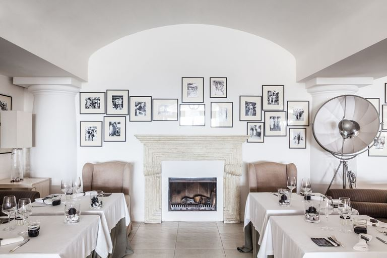 Ресторан L'Olivo отеля Capri Palace - фото