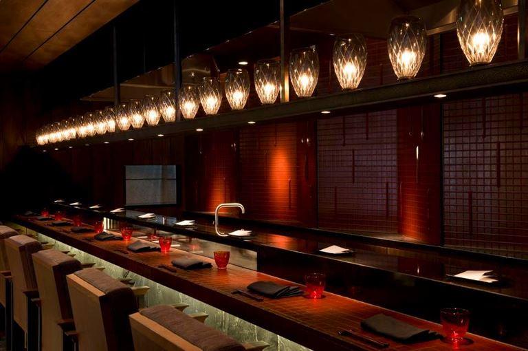 Ресторан The Japanese отеля The Chedi Andermatt (Швейцария)