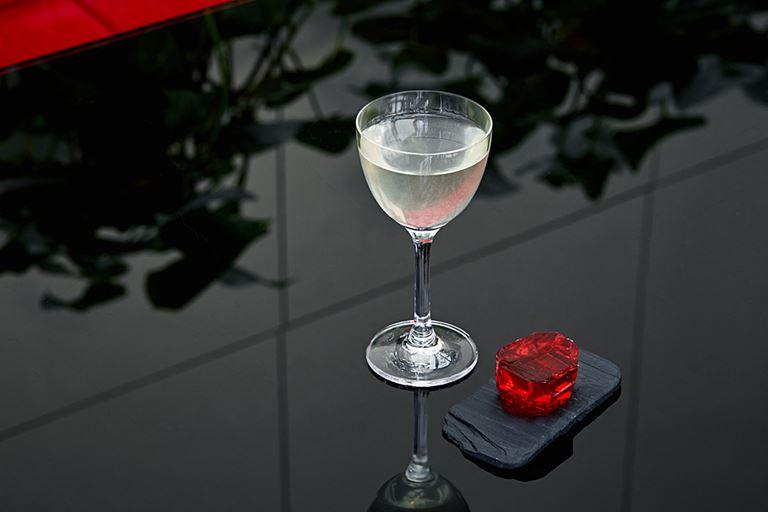 Новые коктейли в Sixty - Сloudberry martini