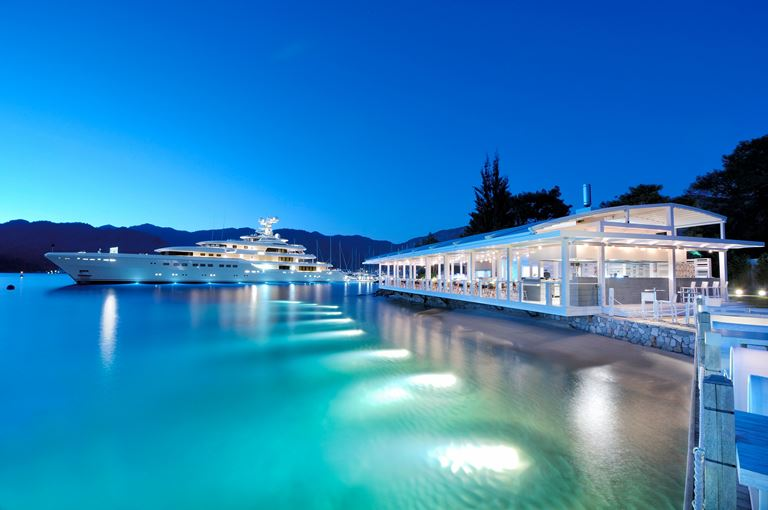 Свадьба в Турции на берегу Средиземного моря с D-Resort Göcek - ресторан The Breeze