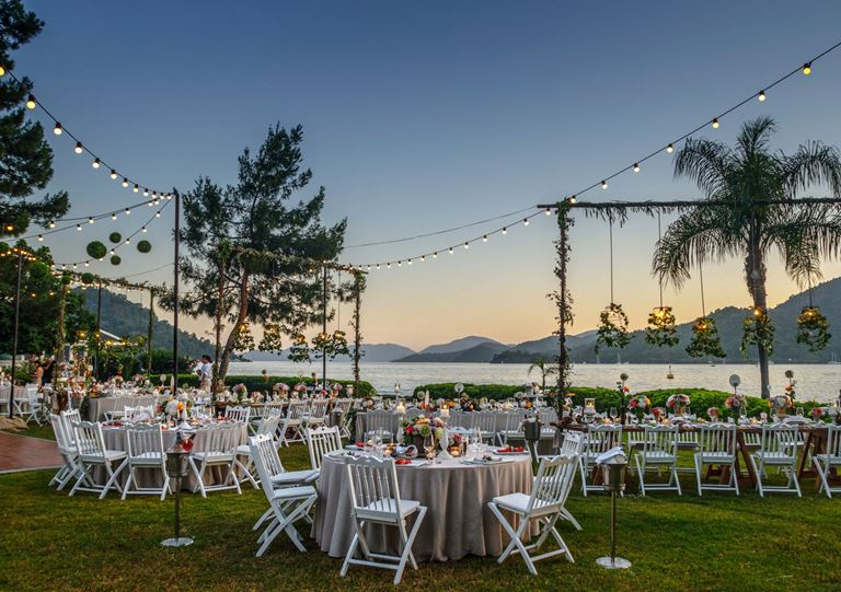 Свадьба в Турции на берегу Средиземного моря с D-Resort Göcek - фото
