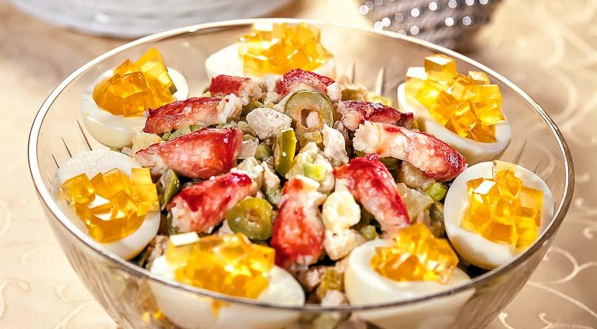 5 популярных салатов, которые знают (и любят) во всём мире - оригинальный салат «Оливье»