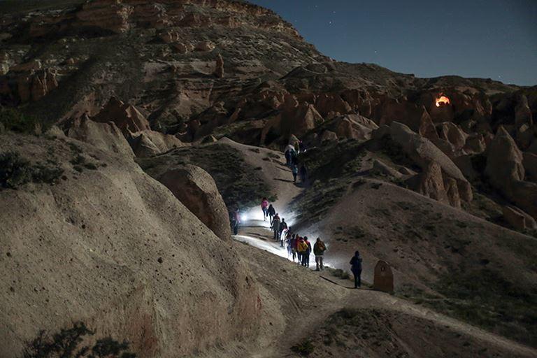 Прогулки при полной луне в отеле Argos in Cappadocia (Турция)