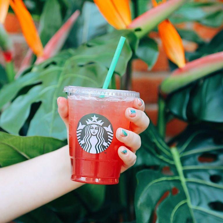 Лимонад «Ежевичный Мохито» от Starbucks для участников Geek Picnic-2019