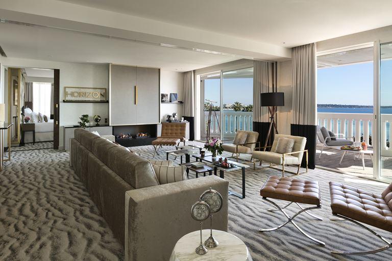 Hôtel Barrière Le Majestic Cannes: новые сьюты с уникальным дизайном