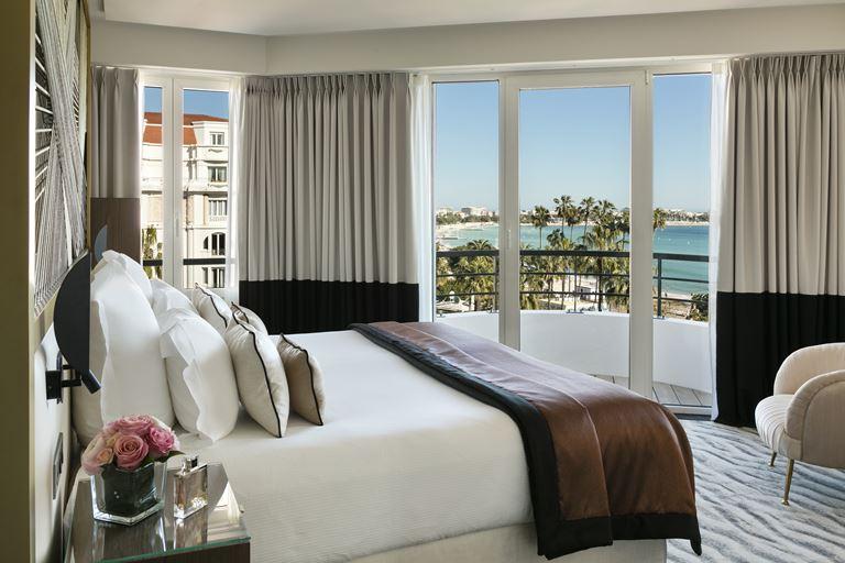 Hôtel Barrière Le Majestic Cannes: новые сьюты со стильным дизайном