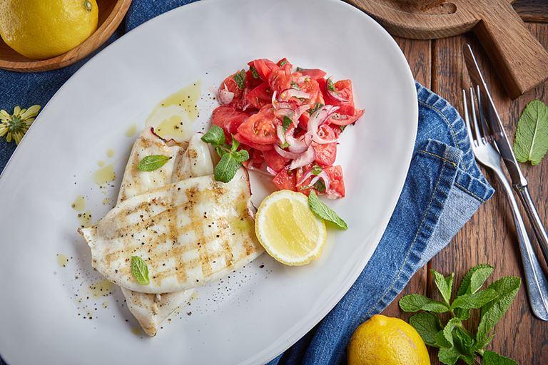 Командорский кальмар от ресторана «Сыроварня» – рецепт