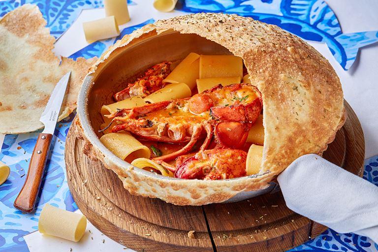 Паста паккери с половиной лобстера от ресторана «Магадан» – рецепт