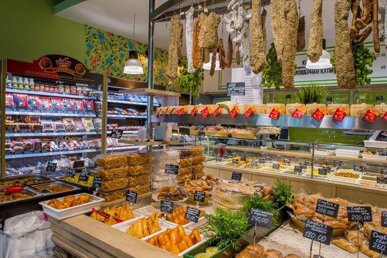 магазин кошерных продуктов «Вкусная жизнь» компании Pinhas - фото 1