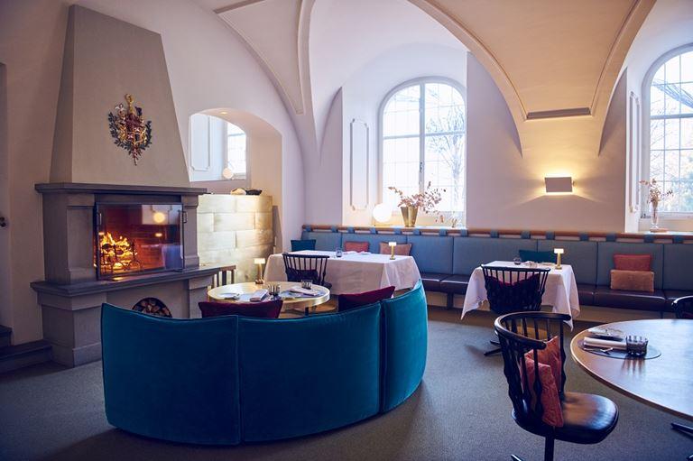 Сильвио Германн (ресторана IGNIV курорта Grand Resort Bad Ragaz) – шеф-повар 2019 года - интерьер