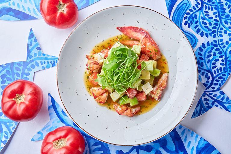Салат с лобстером от ресторана «Магадан» - рецепт