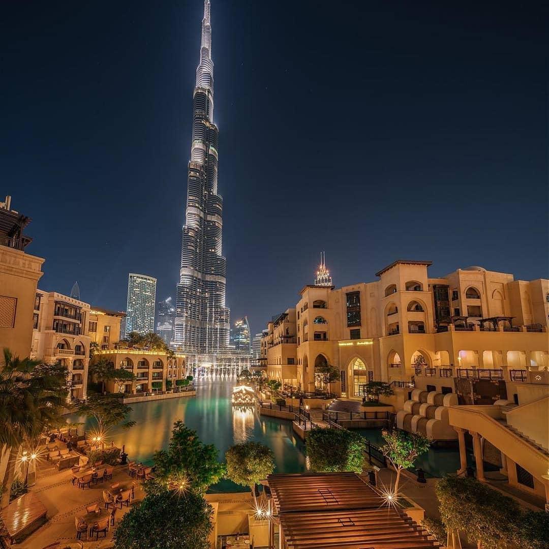 Insta-вдохновение: 5 мест в Дубае для лучших ракурсов башни Бурдж-Халифа - Морской рынок Аль-Бахар