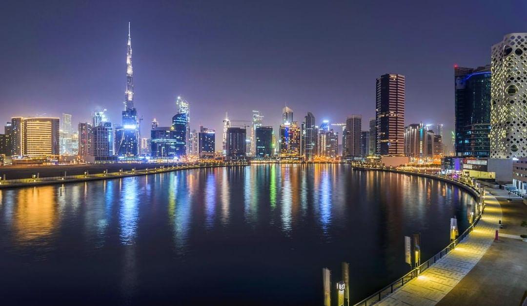 Insta-вдохновение: 5 мест в Дубае для лучших ракурсов башни Бурдж-Халифа - Район Business Bay