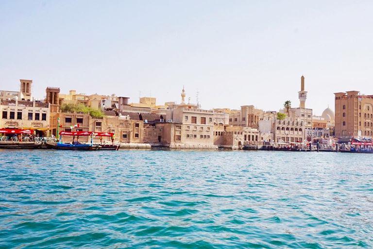 красивые места в Дубае для ярких и необычных фотографий - Старый город Дубая