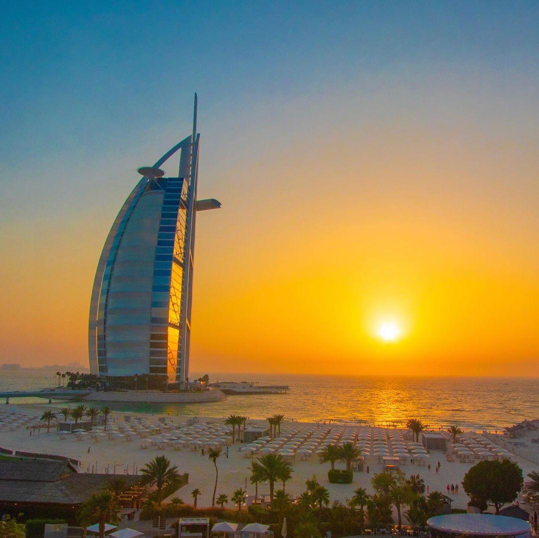 Insta-места: где делать фото красивых закатов в Дубае – Kite Beach и Sunset Beach