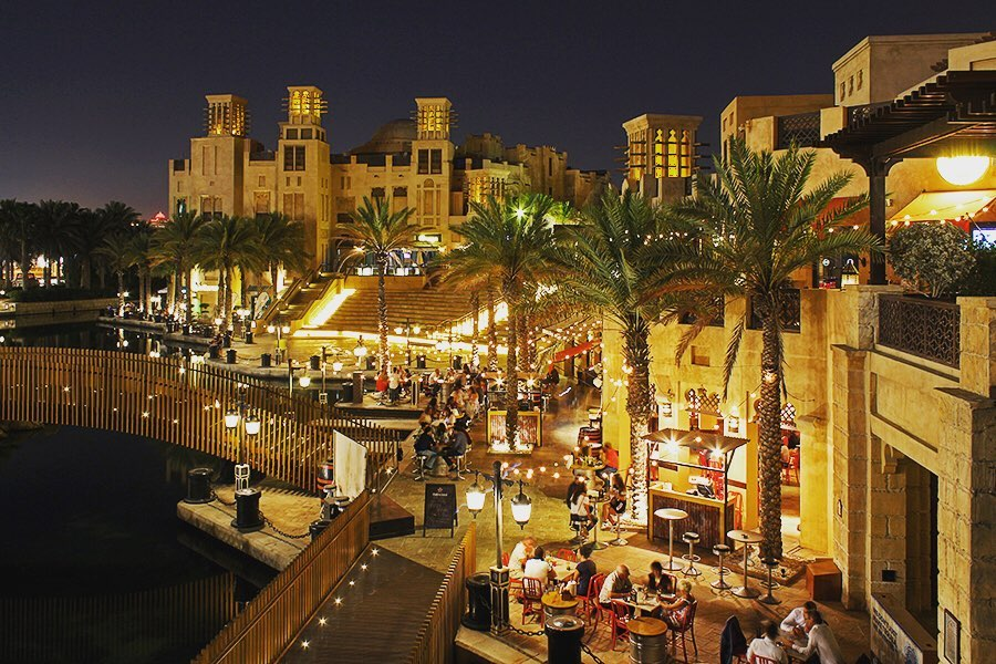 Insta-места: где делать фото красивых закатов в Дубае – Madinat Jumeirah