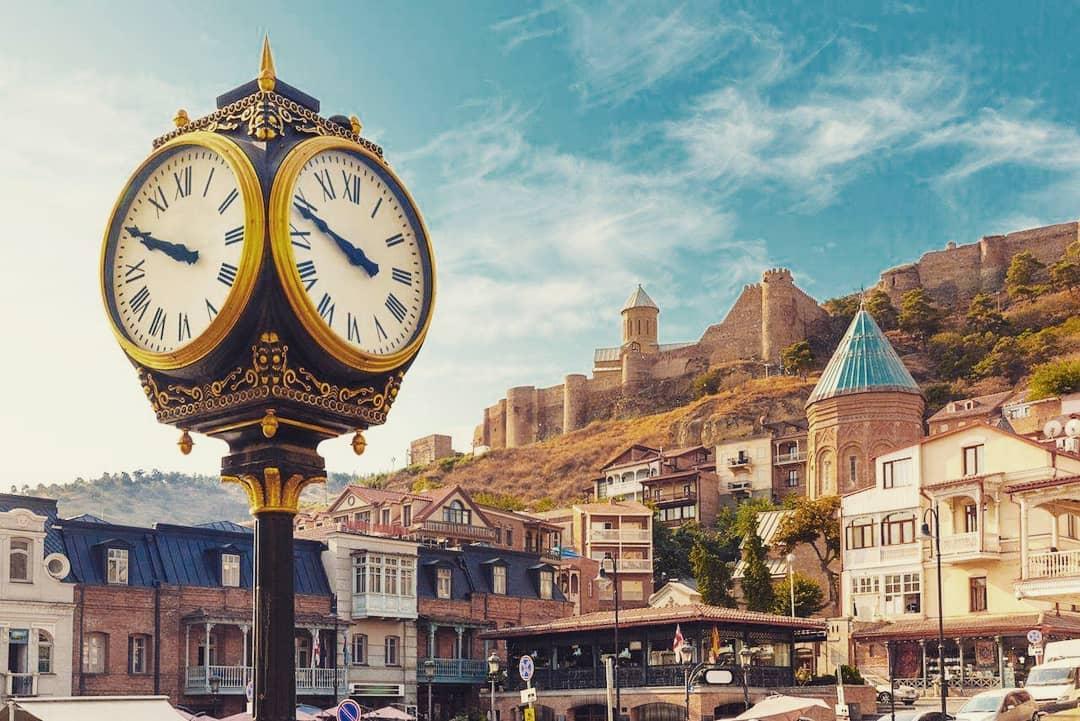 Старый город в Тбилиси (Грузия)