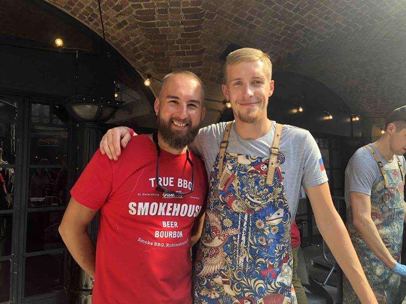 Гастрономический барбекю-фестиваль Smoke & Fire-2019 в Санкт-Петербурге