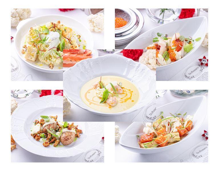 Блюда из цветной капусты в Гранд-кафе «Dr. Живаго»