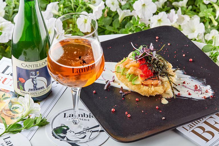 Гёзы – модный пивной напиток лета-2019 в Brasserie Lambic (Москва)