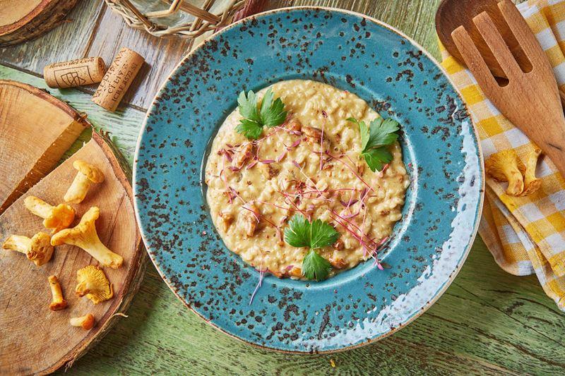 Сезон лисичек-2019 в ресторанах Москвы - Блюда из лисичек в ресторане итальянской кухни Christian