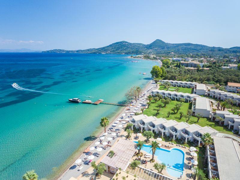 Знакомство с Корфу (Греция) с курортом Domes Miramare, a Luxury Collection Resort