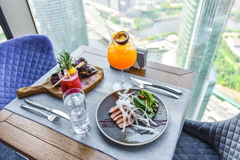 Ресторан «360»: авторская кухня с панорамным видом на Москву - фото 3