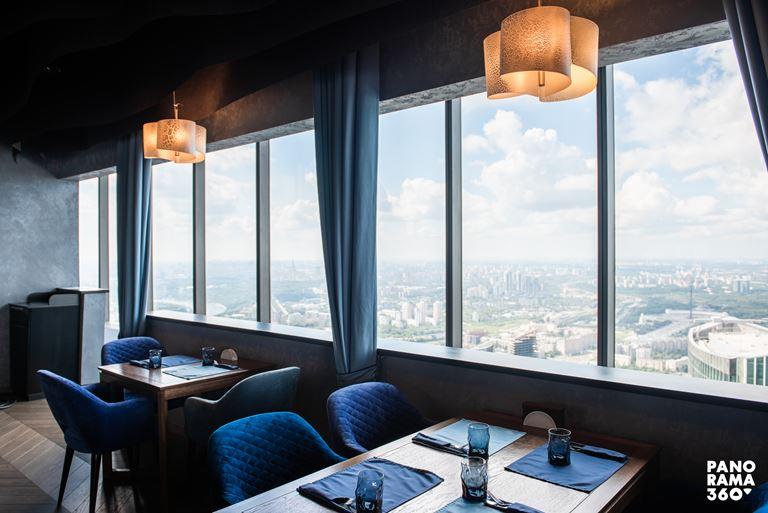Ресторан «360»: авторская кухня с панорамным видом на Москву - фото 1