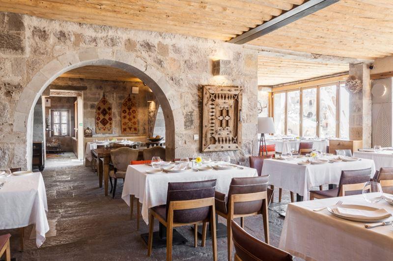 Ресторан Seki при отеле Argos in Cappadocia в Турции получил награду от Wine Spectator