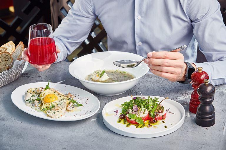 Рецепты блюд бизнес-ланча из меню ресторана Sixty (Москва-Сити) - фото 2